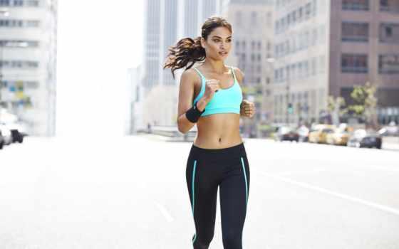 девушек, спорт, run