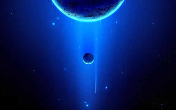 space, blue, планеты Фон № 42454 разрешение 1920x1080