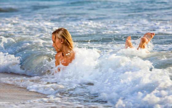 море, девушки, красавица