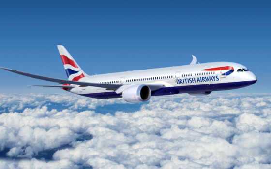 airways, british, boeing, самолёт, пассажирский, airport, авиалайнер,
