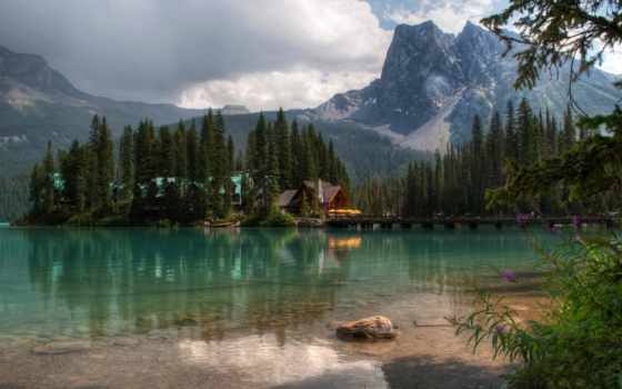 природа, пейзажи -, красивые, небо, гора, water, обоях, года, добавлено, fonday,