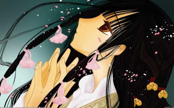 anime, xxxholic, изображение, manga, фон, black, clamp,