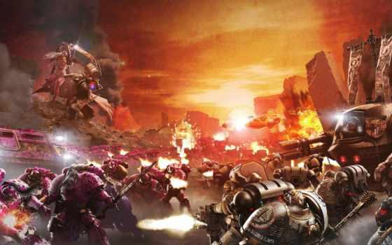 warhammer, космос, marines, heresy, битва,