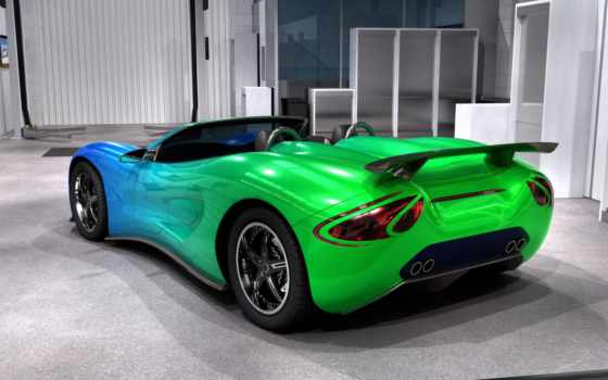 color, машины, зелёный
