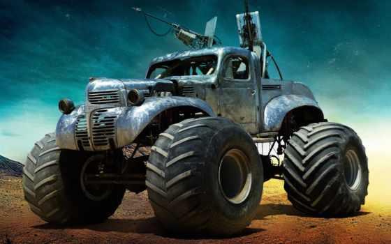 фарго, mad, max, workhorse, года, bigfoot, dodge, truck, engine,