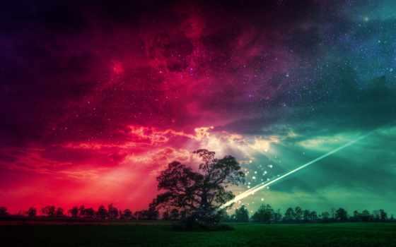небо, графика, ночь, банка, бесплатные, наши, быстро, рисованные,