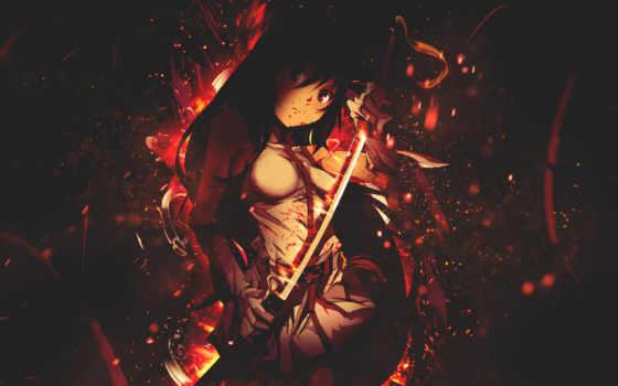 warrior, fighting , mobile, девушка, мечь, темный,