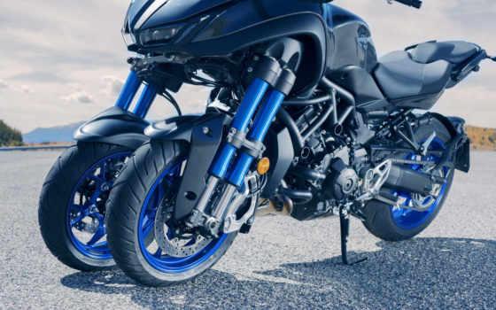 yamaha, niken, мотоцикл, wheeler, трехколесный, roues, new, представила,
