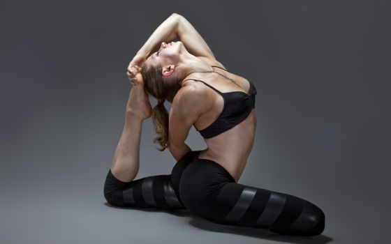 гимнастика, спорт, девушка