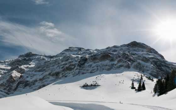 альпы, горы, нашем