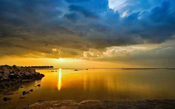природа, oblaka, landscape, картинка, красивая, небо, высокого, красивые, качества, фотографий, малайзии,