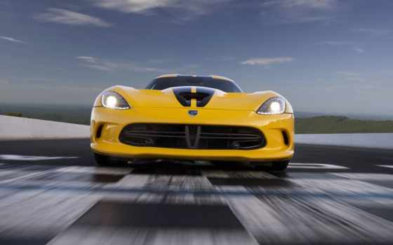 fastest, viper, американский, srt, cars, dodge, car, производственный, design,