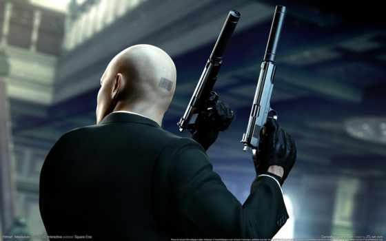 hitman, агент, absolution, оружие, devforfun, лысый, штрих, код, убийца, сообщение, темы,