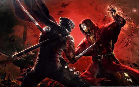 ninja, gaiden, воин, оружие, game, xbox, video, игры,