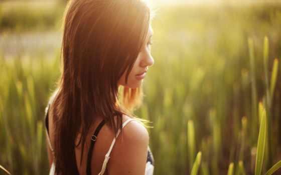 девушка, devushki, лицо, волосами, красивые, other, summer, women, girls, закат, женщина,