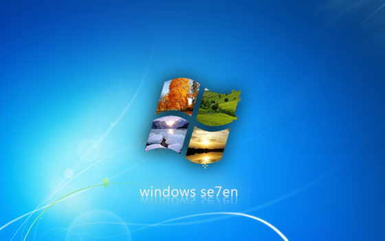 windows 7 seasons photo