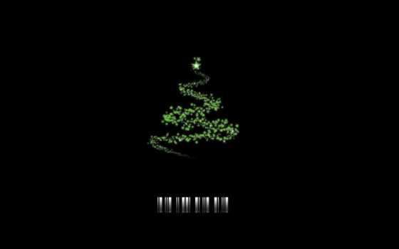 штрихкод, елка, year, new, девушка,