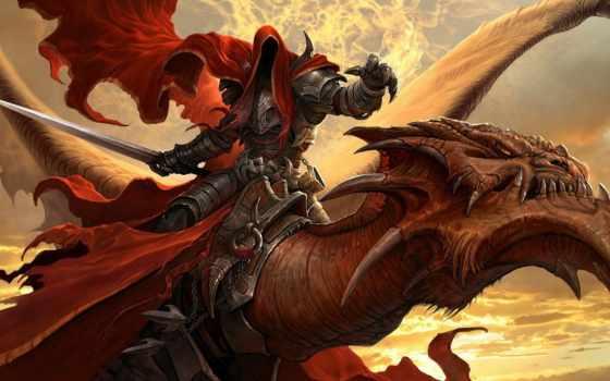 драконы, вечности, online