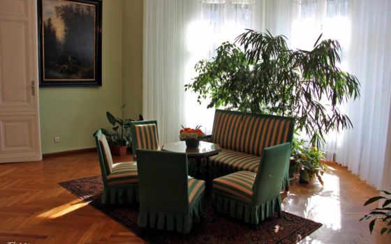 wnętrze, pałacowe, pokój