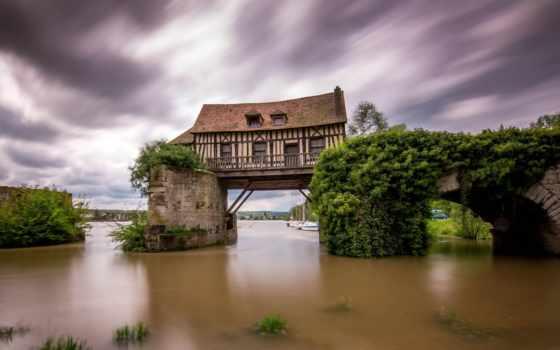 french, франция, mill, город, страница, самые, moulin, забавные, free, мосту,