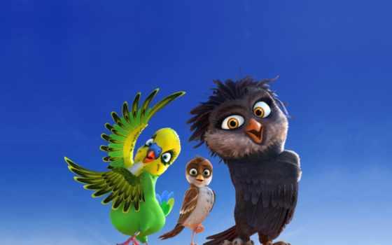ричард, stork, перья, трио, cartoon, сниматься, trailer