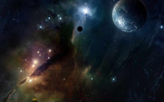 cosmos, journey, акварелью, рисованный, изображение, walkinspace, video,