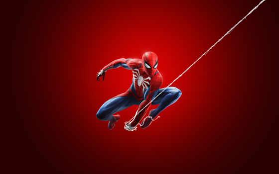 мужчина, marvel, паук, new,