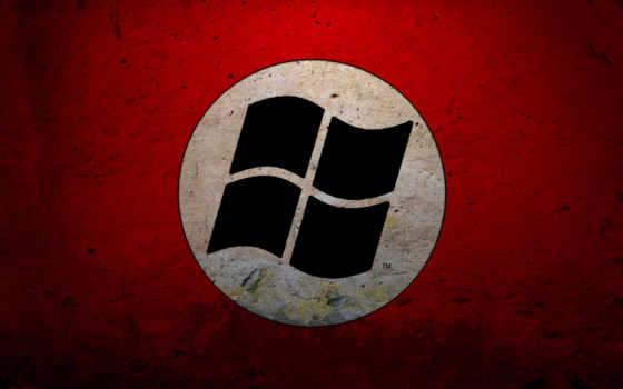 windows, nazi, microsoft, флаг,
