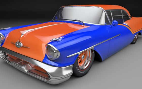 олдсмобиль, coupe, кабриолет, car, картинка, classic, starfire,