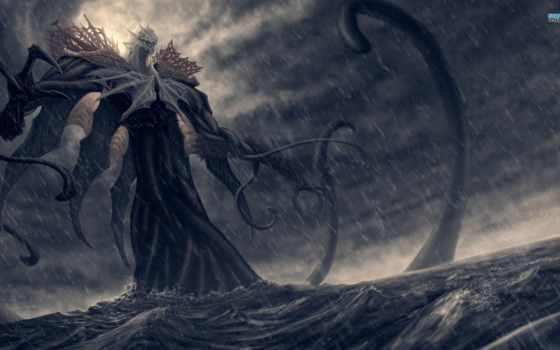 море, monster, fantasy, ocean, god, images,