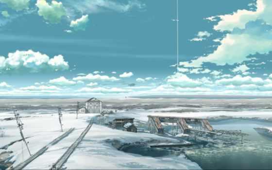макото, синкая, anime