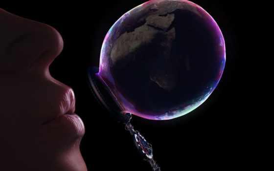 пузыри, мыльные, девушка, bubble, мыло, картинка, аватар,