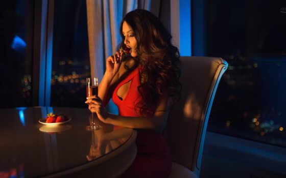 девушка, voevodina, oxana, фото, платье, red, страница