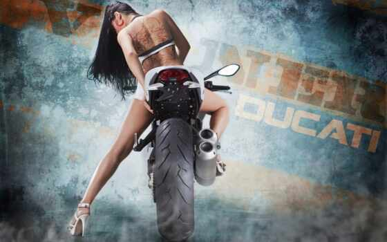 девушка, мотоцикл, biker, xfvalue, снегурочки, sporty, art, alt, красивый, бренд