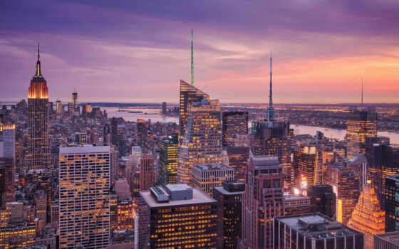 new, york, нью, город, коллекция, urban, landscape, manhattan, огни