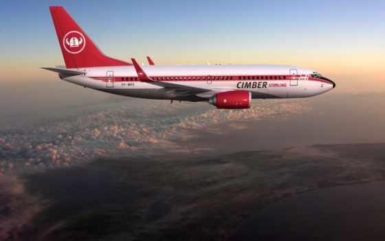 самолёт, boeing, техника, небо,height, полет, пассажирский,