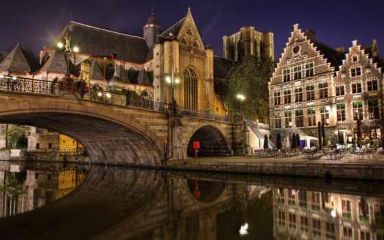 belgium, мост