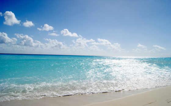 море, пляж, sun