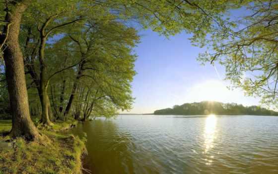 рыбалка, природа, небо, trees, великолепие, сегодня, горы, имеете, прямо, природы, украсить,