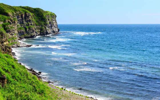 море, берег Фон № 22277 разрешение 2560x1600