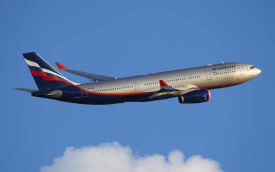 самолетов, пассажирских, изображением