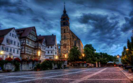 германия, church, площадь