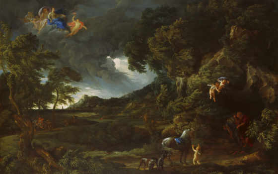 дюге, гаспар, gaspard, dughet, landscape, gallery, лондонская, национальная,