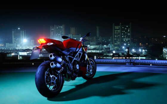 ducati, streetfighter, мотоцикл