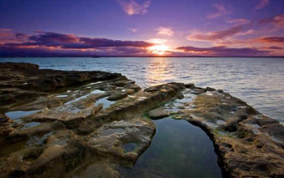 природа, море, закат Фон № 121764 разрешение 2560x1600