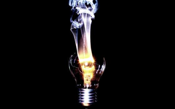 лампочка, минимализм, череп, широкоформатные, мотивация, дух,