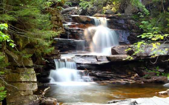 водопад, природа, скалы, каскад, pictures, pin, notch, uns, unter,