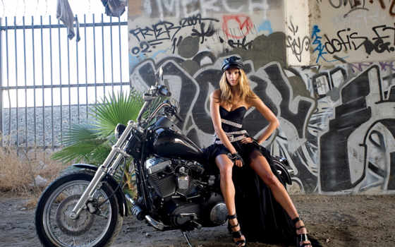 мотоцикл, graffiti, алессандра, платье, ambrosio, мотоциклы,