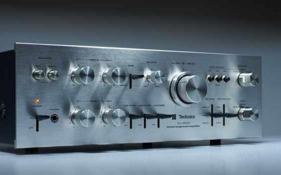 стерео, amplifier, technics, су, tech, впервые, item,