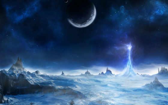 planet, планеты, фантастика, фантастические, звезды, landscape, картинка, научная,